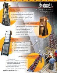 Screening and Screenings Handling Equipment