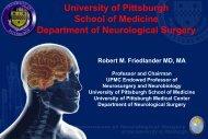 School of Medicine Department of Neurological Surgery - Office of ...