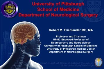 School of Medicine Department of Neurological Surgery - Office of ...