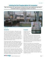 Mouvex (June 2012): White Paper - Pump Solutions Group