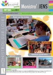 Bulletin municipal de janvier 2013 - Monistrol sur Loire