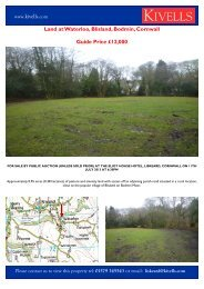 Land at Waterloo, Blisland, Bodmin, Cornwall Guide ... - Expert Agent