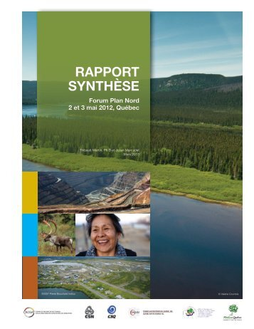 RAPPORT SYNTHÈSE - Forum plan nord 2012