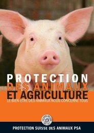 Protection des animaux et agriculture - Schweizer Fleisch