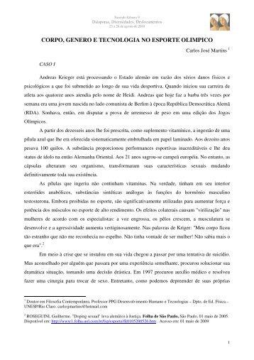 Carlos José Martins - Fazendo Gênero
