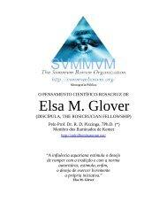 O Pensamento de Elsa M. Glover - Ordo Svmmvm Bonvm