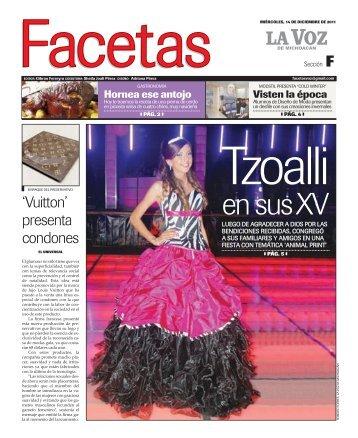facetas - La Voz de Michoacán