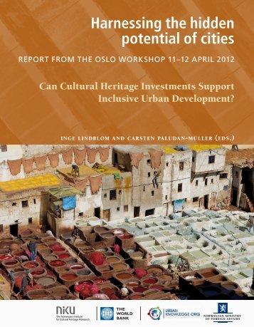 Harnessing the hidden potential of cities - NIKU