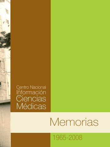 Memorias 1965 - Biblioteca Virtual en Salud de Cuba - Infomed