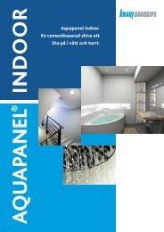Aquapanel Indoor. En cementbaserad skiva att lita ... - Knauf Danogips