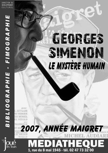 Georges Simenon : le mystère humain