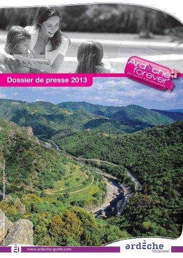 Dossier de presse 2013 - Espace PRO