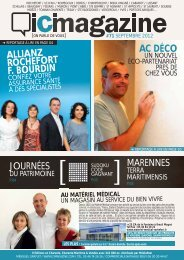 AC DÉCO ALLIANZ ROCHEFORT F. BOURDIN - ICI Magazine