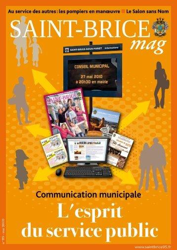 Magazine mai 2010 - Saint-Brice-sous-Forêt