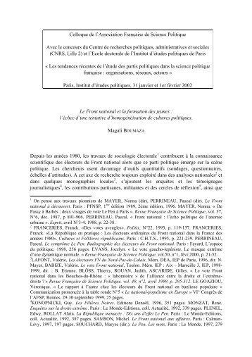 Télécharger le texte au format pdf - Association française de science ...