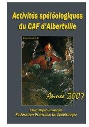 Activités CAF 2007-2.pub - Karstexplo