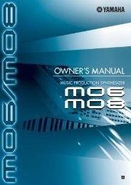 MO6/MO8 Owner's Manual - Motifator.com