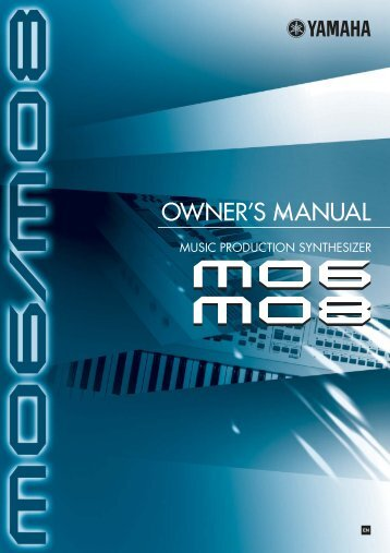 MO6/MO8 Owner's Manual - Motifator.com