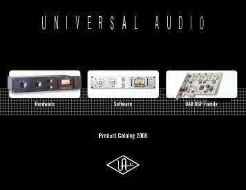 Software UAD DSP Family Hardware - zZounds.com