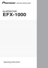 EFX-1000 - zZounds.com
