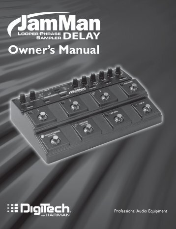 Owner's Manual - zZounds.com