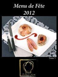 Menu de Fête 2012 - Meilleur du Chef