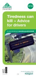 Tiredness can kill − Advice for drivers - Gov.uk
