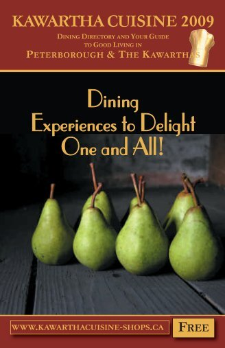 Dining Experiences to Delight One and All! - Chantal Saville