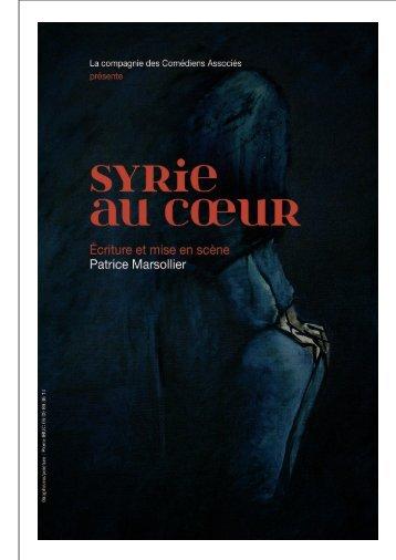 Dossier Syrie au coeur - Comédiens Associés