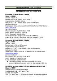 gare com09_12.pdf - FederCiclismo Piemonte
