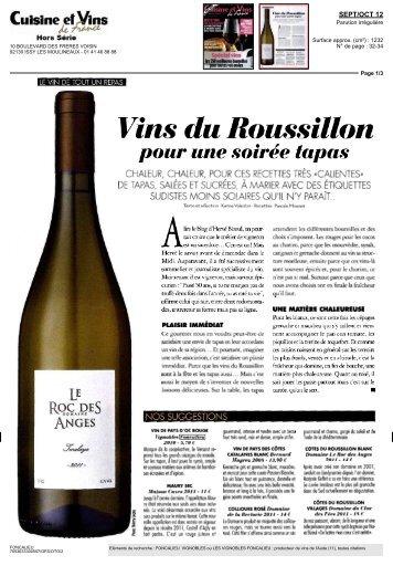 Cuisine et vins de france h s n 14 - Cuisine et vin de france ...