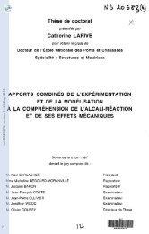 Apports combinés de l'expérimentation et de la modélisation à ... - TEL