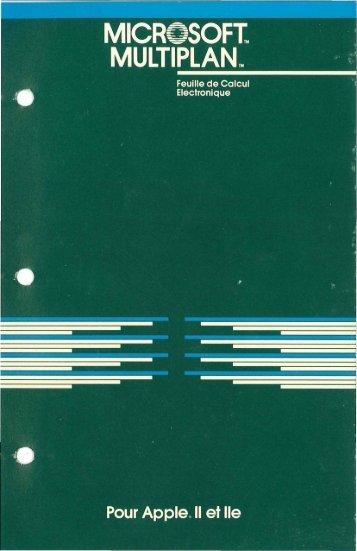 microsoft_multiplan_.. - Brutal Deluxe Software