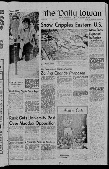 Daily Iowan (Iowa City, Iowa), 1969-12-30 - The Daily Iowan Historic ...