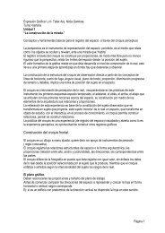 Expresión Gráfica I y II- Taller Arq