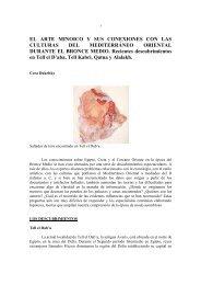 el arte minoico y sus conexiones con las culturas del mediterraneo ...