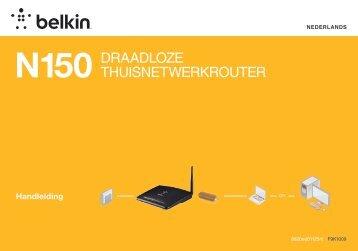 N150 DraaDloze ThuisneTwerkrouTer - Belkin