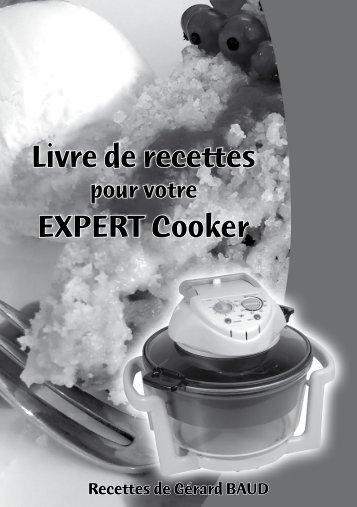 Livre de recettes EXPERT Cooker - myElefant