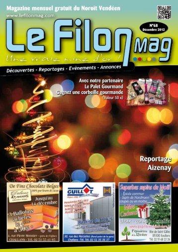 Noroît Vendéen - DÉCEMBRE 2012 - N°68 - Le FiLON MAG