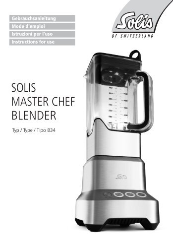 SOLIS MASTER CHEF BLENDER