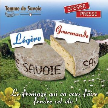 Dossier Presse - Tomme de savoie