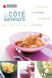 Livre de recettes Seb, Côté Saveurs