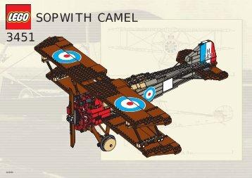 3451 Sopwith camel - Lego