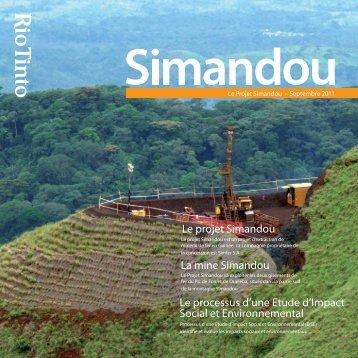 Projet Simandou [PDF: 7.53 MB] - Rio Tinto La Granja