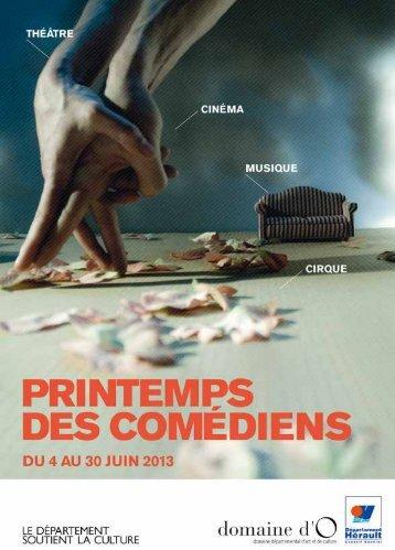 Télécharger le programme au format pdf - Printemps des comédiens