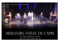 MEILLEURS VŒUX DE CAPRI - L'Epi d'Orge - E-monsite