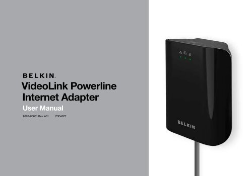 Belkin F5D4073v1 Powerline Adapter Windows 8 X64
