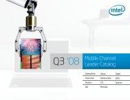 Mobile Channel Leader Catalog - Intel