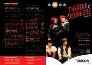 Programme Théâtre de la jeunesse 2013 (pdf - 1,46 Mo) - Mâcon