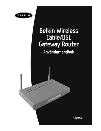 routern - Belkin